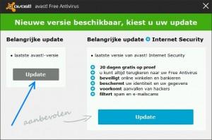 Avast!-Update