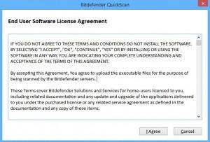Bitdefender-Quick-Scan-Licentie