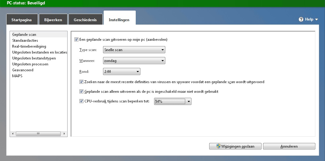 Microsoft-Securitu-Essentials-Geplande-Scan