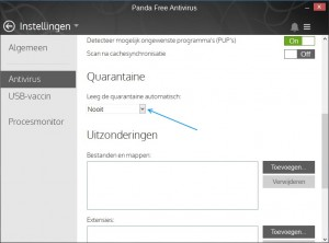 Panda-Free-Antivirus-Instellingen-Quarantaine